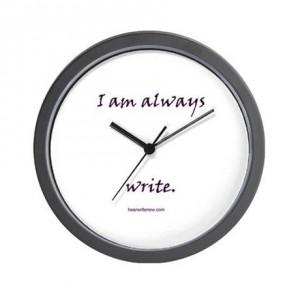Always Write Wall Clock