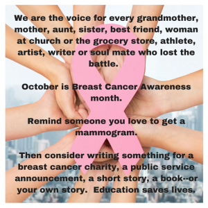 October - Breast Cancer Awareness
